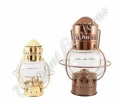electric nautical lamp antique brass onion lantern 10