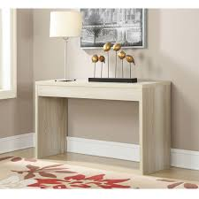 White Hallway Table Contemporary Sofa Table Console Table In Weathered White Wood