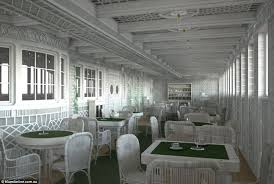 Titanic First Class Dining Room Titanic Ii Is Coming In 2018 All Aboard