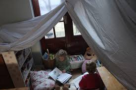 30 days to hands on play challenge a reading tent the