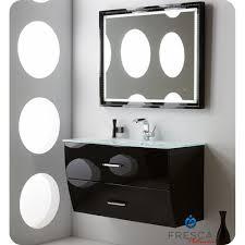 Designer Bathroom Vanity by 40 Inch Glossy Black Modern Bathroom Vanity Wall Mounted