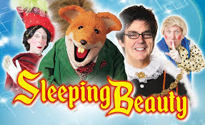 pantomime sleeping beauty windsor theatre royal red kite