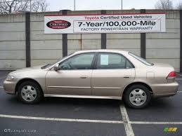 2001 honda accord v6 2001 naples gold metallic honda accord ex v6 sedan 7139523
