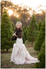 hughes christmas tree farm wedding photos benton louisiana