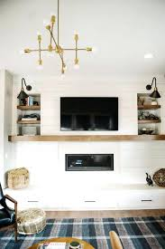 fireplace tv mantel ideas mantelmount mount over modern tile best