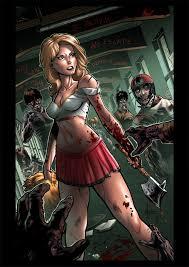 Zombie Cheerleader Zombie Vs Cheerleader Cover By Yleniadn86 On Deviantart