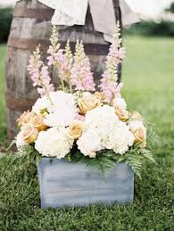 rustic garden wedding flowers decor ideas deer pearl flowers
