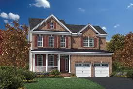 Impressive Design 7 Colonial Farmhouse Dominion Valley Country Club Carolinas The Ellsworth Ii Home