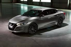 nissan cars 2017 nissan adds midnight edition package to 5 more models