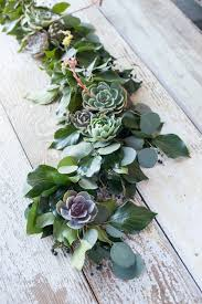 fresh flower table runner 23 ideas for featuring succulents in your wedding wedding