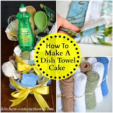 kitchen tea gift ideas creative soap ideas dish towel cake by tutorial