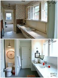 before and after a powder room makeover martha stewart thinking