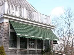 Striped Awning Retractable Awnings For Your Home Or Store