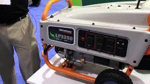 generac lp3250 propane generator youtube