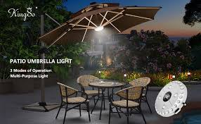 Patio Umbrella Lighting Patio Umbrella Light Kingso 3 Level Dimming Wireless 28 Leds