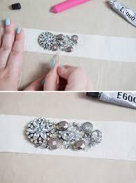 bridal sash learn how to make this chic diy rhinestone bridal sash