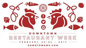 restaurant week the downtown winston salem partnership