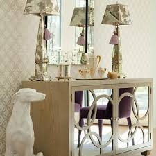gray mirrored buffet cabinet design ideas