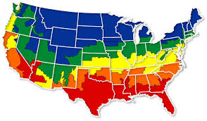 us climate map residential energy consumption survey recs us energy climate maps