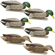 avian x back water series topflight mallard duck decoys 6 pack