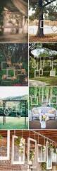 rustic country backyard wedding decor ideas deer pearl flowers