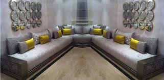tissus canapé marocain pour salon boutique artisanat marocain