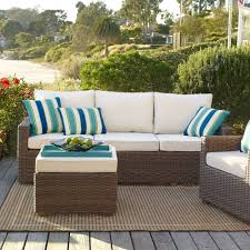 echo beach latte 3 piece patio set pier 1 imports