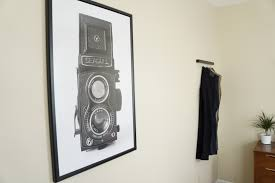 weird clocks minimal male bedroom