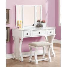 How To Organize A Vanity Table Makeup Tables And Vanities You U0027ll Love Wayfair