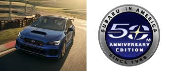 subaru america subaru 50th anniversary edition confirmed for north america