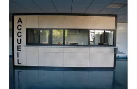 bureau accueil bureau accueil ossature bois marché menuiserie lahay