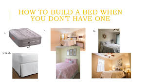 How To Build A Bedroom How To Stage A Bedroom Without A Bed