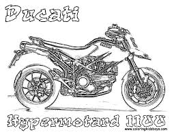 free motorcycle coloring page letscoloringpages com ducati