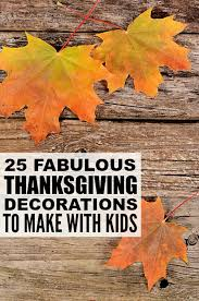 25 diy thanksgiving decorations for