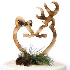 buck and doe cake topper oh deer wedding cake topper doe buck lazerworx design