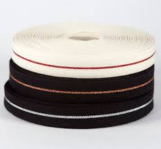 metallic ribbon cotton metallic ribbon 3 4 inch colophon book arts supply