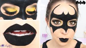 easy batman mask makeup tutorial by eyedolizemakeup youtube