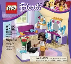 Bedroom Set Parts Amazon Com Lego Friends Andrea U0027s Bedroom 41009 Toys U0026 Games