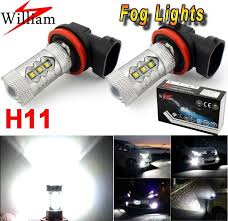 2013 kia optima led fog light bulb 2pcs h11 xenon white 80w led fog lights upgrade for mitsubishi