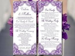design wedding programs unique program to make wedding invitations for folding wedding