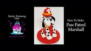 marshall dog paw patrol cake topper