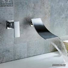 u0026 cold modern wall mounted bathroom taps ebay
