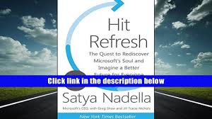 free pdf donwload hit refresh the quest to rediscover microsoft