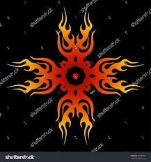 cross tattoo designs tribal cross tattoo stock vector 395855995