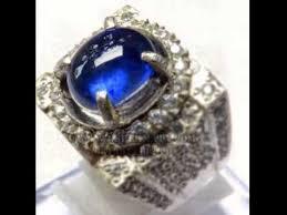 model cincin blue safir batu blue safir royal blue sapphire
