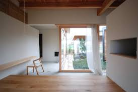 houses with courtyards a modern japanese courtyard house mitsutomo matsunami small