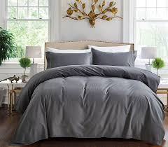 Beautiful Comforters Bedding Grey Queen Comforter Set With 2 Pillow Shams Made Of
