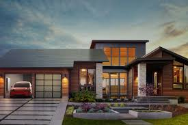 tesla unveils residential u0027solar roof u0027 with updated battery