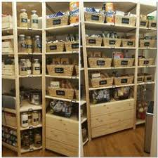 ivar kitchen hack i like how she angled the shelves for cans cleaning organizing