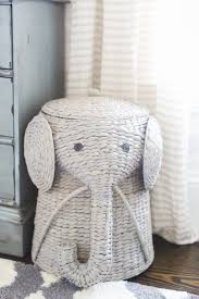 Pottery Barn Kids Elephant Rug by In The Nursery With Finding Lovely Hamper Kids Rooms And Nursery